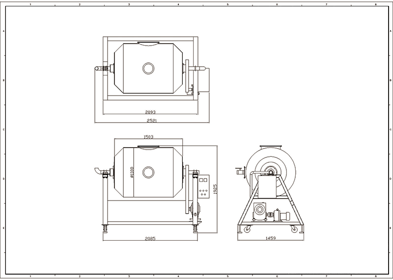Three-phase four-wire system 380V 2kW/h